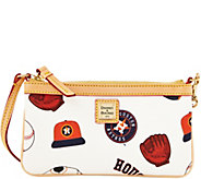 Dooney & Bourke MLB Astros Large Slim Wristlet - A280142