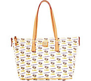 Dooney & Bourke NCAA Louisiana State University Zip Top Shopper - A283242