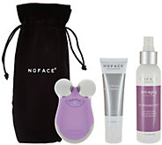 NuFace Mini Facial Toning Device w/ Optimizing Mist & Pouch - A286842