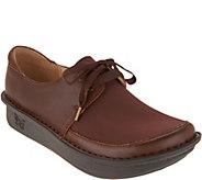 Alegria Dream Fit Leather Lace-up Shoes - Dani - A298142