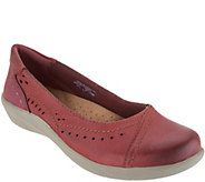Earth Origins Perforated Slip-On Flats - Lexi - A303242