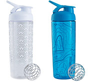 BlenderBottle Set of 2 SportMixer Signature Sleek Bottles - A359042