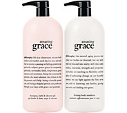 philosophy super-size 3-in-1 gel & body lotion duo Auto-Delivery - A209343