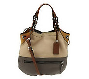 As Is OrYANY Pebble Leather Sydney Large Hobo - A228043