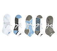 Passione Comfort Set of 5 Cotton Ankle Socks - A252343