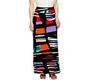 Kelly by Clinton Kelly Regular Printed Knit Maxi Skirt - A254043