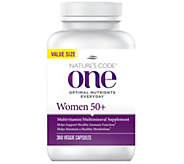Natures Code ONE 360 Day Once Daily Womens Multivitamin - A260643