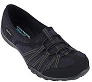 As Is Skechers Mesh Relaxed Fit Slip-on Sneakers - A266143