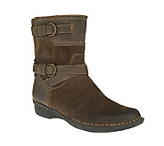 As Is Clarks Suede Ankle Boots - Whistle Ranch - A267243