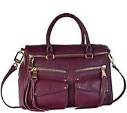 Aimee Kestenberg Leather Satchel Handbag - Soho - A269943