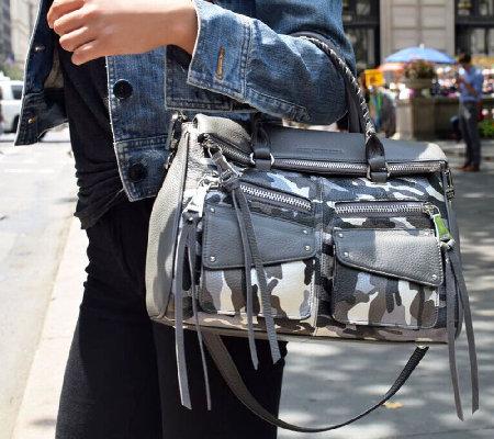 Aimee Kestenberg Leather Satchel Handbag - Soho