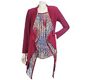 As Is Effortless Style by Citiknits Cardigan & Tank - A271443