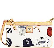 Dooney & Bourke MLB Padres Large Slim Wristlet - A280143