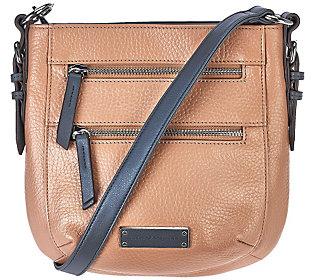 As Is Tignanello Pebble Leather RFID Crossbody Bag