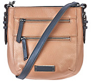 As Is Tignanello Pebble Leather RFID Crossbody Bag - A280243