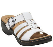 As Is Clarks Multi-Strap Slide Sandals - Hayla Cavern - A280343