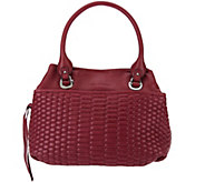 As Is Aimee Kestenberg Quilted Vintage Leather Shopper - Kiley - A280443