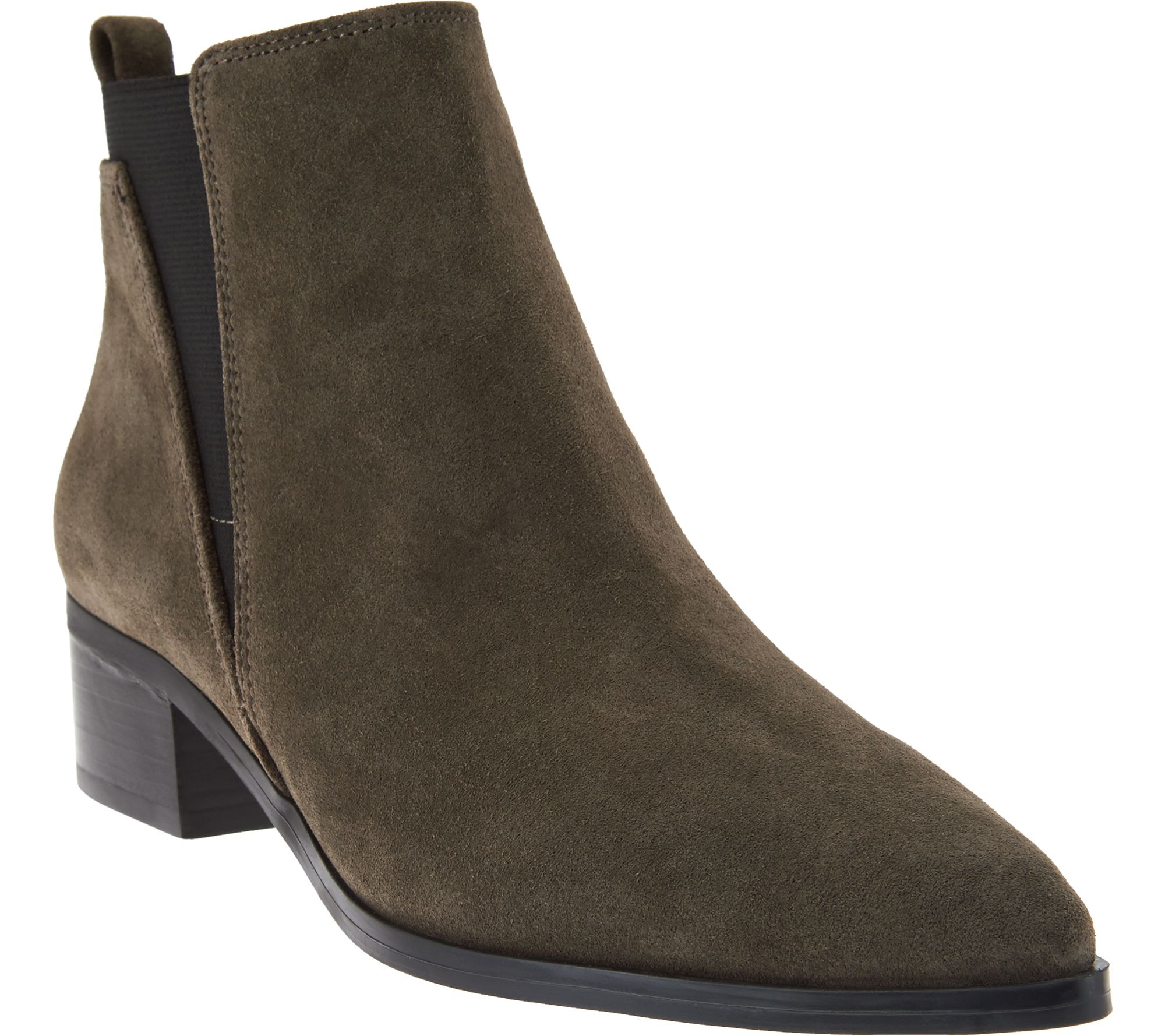 marc fisher suede chelsea ankle boots ignite page 1
