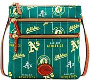 Dooney & Bourke MLB Nylon Athletics Triple Zip Crossbody - A281543