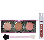 Mallys Signature Glow Face & Lip 3-piece Collection - A281943