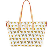 Dooney & Bourke NCAA West Virginia University Zip Top Shopper - A283243