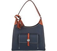 Dooney & Bourke Pebble Leather Cambridge Hobo - A292743
