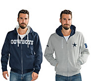 NFL Dallas Team Color Reversible Hoodie and Jacket - A295843