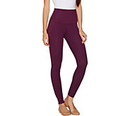 Yummie Compact Cotton Full Length Leggings - A296343