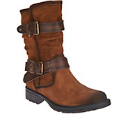 Earth Suede Mid Calf Boots - Everwood - A296843