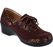 Alegria Dream Fit Leather Lace-up Shoes - Madi - A298143