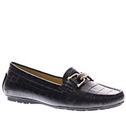 Azura by Spring Step Leather Slip-on Moccasins- Syrinx - A334443