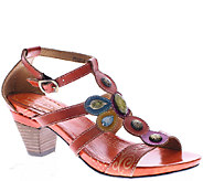 Spring Step LArtiste Leather Closed Back Sandals - Frenzie - A336043