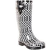 Nomad Puddles Rubber Rain Boots - Trellis - A337843