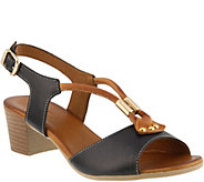 Spring Step Leather Sandals - Roselyn - A364043