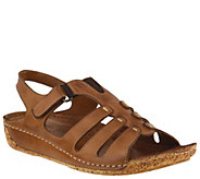 Spring Step Leather Fisherman Sandals - Evelin - A364143