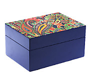 Vera Bradley Signature Print Jewelry Box - A239344