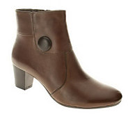 Spring Step Style Ariella Leather Ankle Boots - A242044