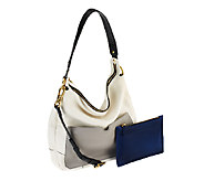 As Is orYANY Adele Pebble Leather Hobo - A261744