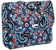 As Is Vera Bradley Signature Print Convertible Mailbag - A270744