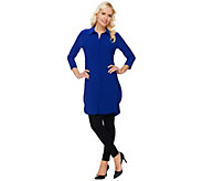 As Is Women with Control Tall Tunic and Pintuck Leggings Set - A281944