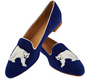 C. Wonder Suede Loafer with Polar Bear Embroidery - Courtney - A284144