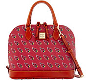 Dooney & Bourke NFL Cardinals Zip Zip Satchel - A285744