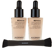 Algenist REVEAL Serum Foundation SPF 15 Duo with Brush - A299144