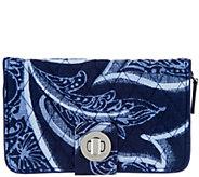 Vera Bradley Signature RFID Turnlock Wallet - A304144