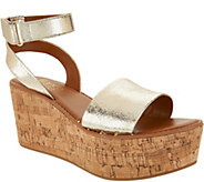 Franco Sarto Ankle Strap Wedges - Jovie - A306944