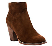 Sole Society Suede Ankle Booties - Alexi - A355944