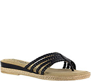 Tuscany by Easy Street Braided Sandals - Sonia - A356944