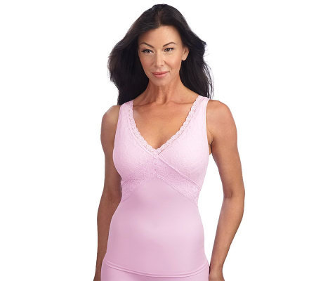 3e46994ffd Breezies Curve   Contour by Flexees Lace Definition Shaping Cami ...