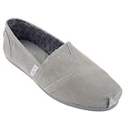 Skechers Bobs Leather Slip-on Shoes w/ Memory Foam - Chillers - A257645