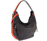 orYANY Kayla Italian Diamond Leather Hobo - A258145